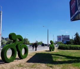 В Минске реконструировали сквер возле «Динамо»
