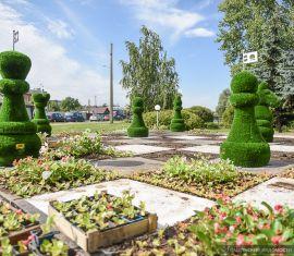 Новая архитектурная форма появилась в Железнодорожном районе Гомеля