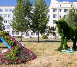 """Садово-парковую композицию """"ЛОШАДЬ"""" установили в Витебске."""